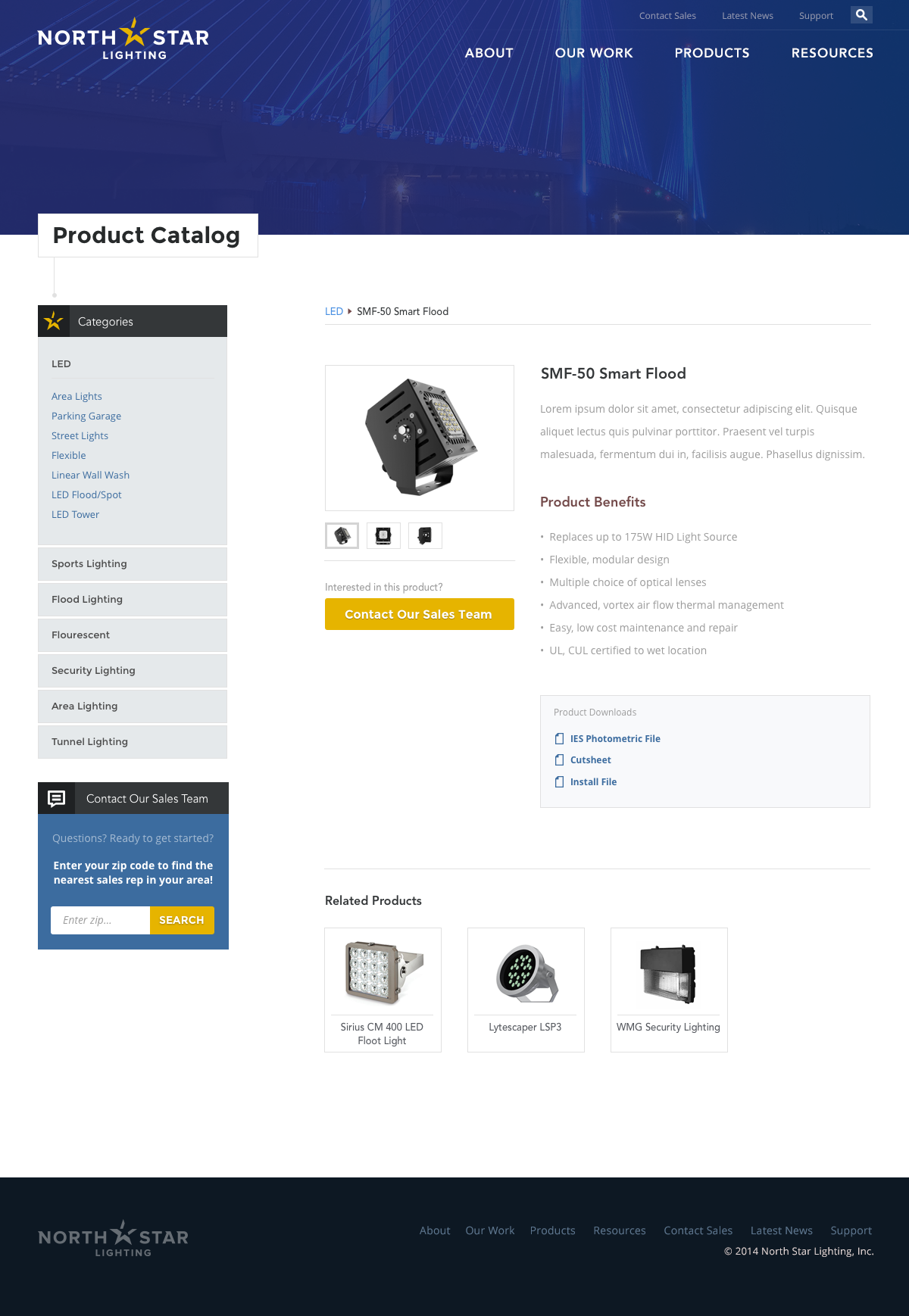 Lighting Company Web Design Case Study Wojo