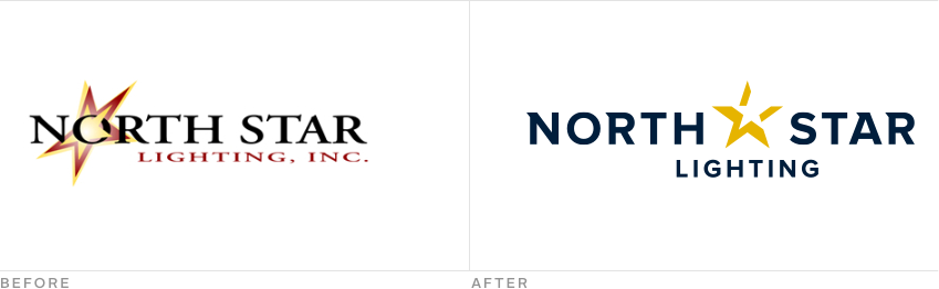 Branding. The existing North Star Lighting ...  sc 1 th 124 : north star lighting - azcodes.com